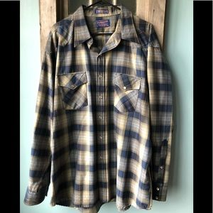 Pendleton Mens XXL 100% Wool Shirt